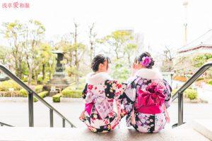 東京着物レンタル浅草愛和服散風景